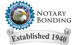 Notary Bonding - Established 1940