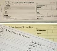 notary receipt book notary bonding